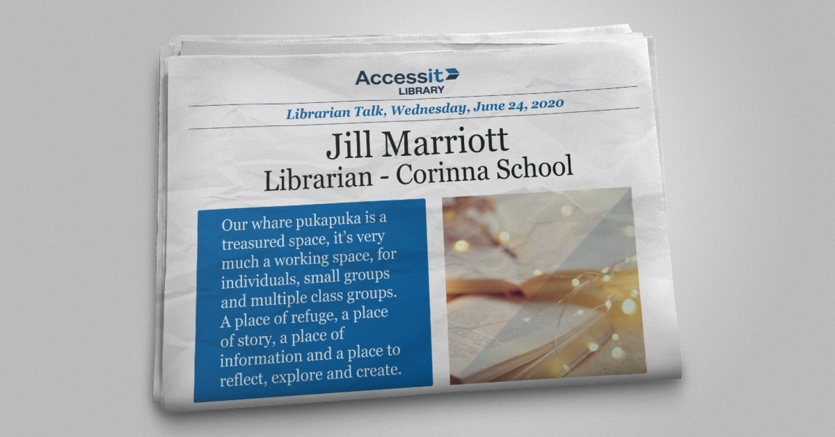 Jill Marriot school library software user story