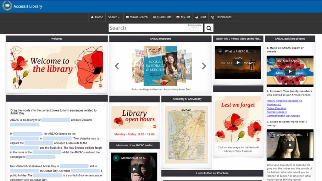 ANZAC - Web App of the Week - Preview