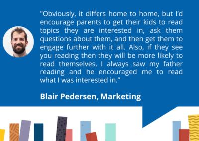 Accessit Team Talk – Blair – Marketing