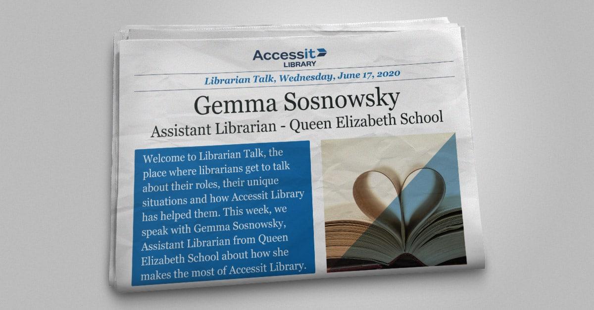 Gemma Sosnowsky library management system user