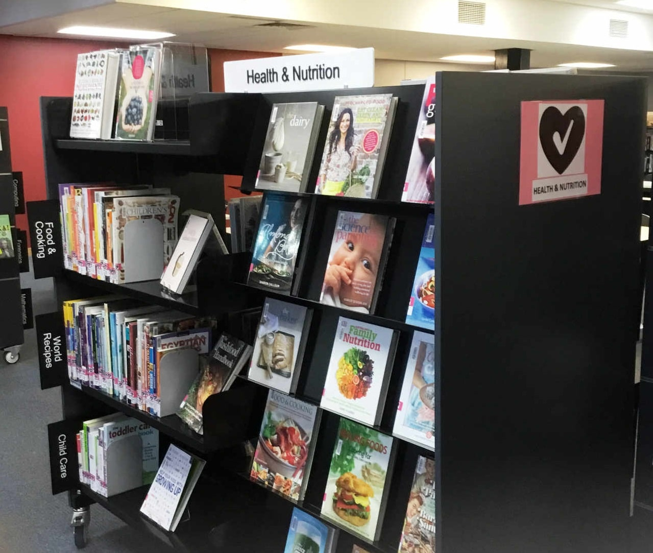 Genrefying your library health and nutrition bookshelf