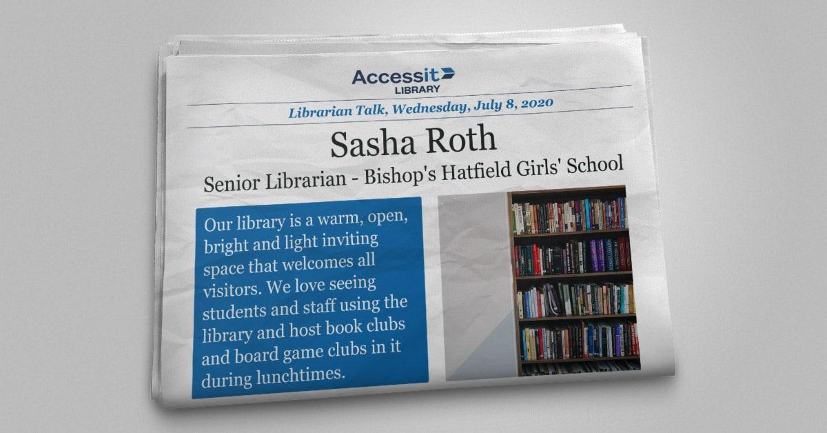 Sasha Roth library management system user