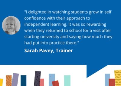 Librarians of Accessit – Sarah Pavey
