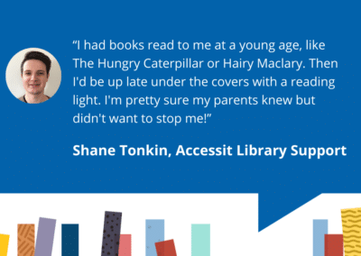 Accessit Team Talk – Shane – Accessit Library Support