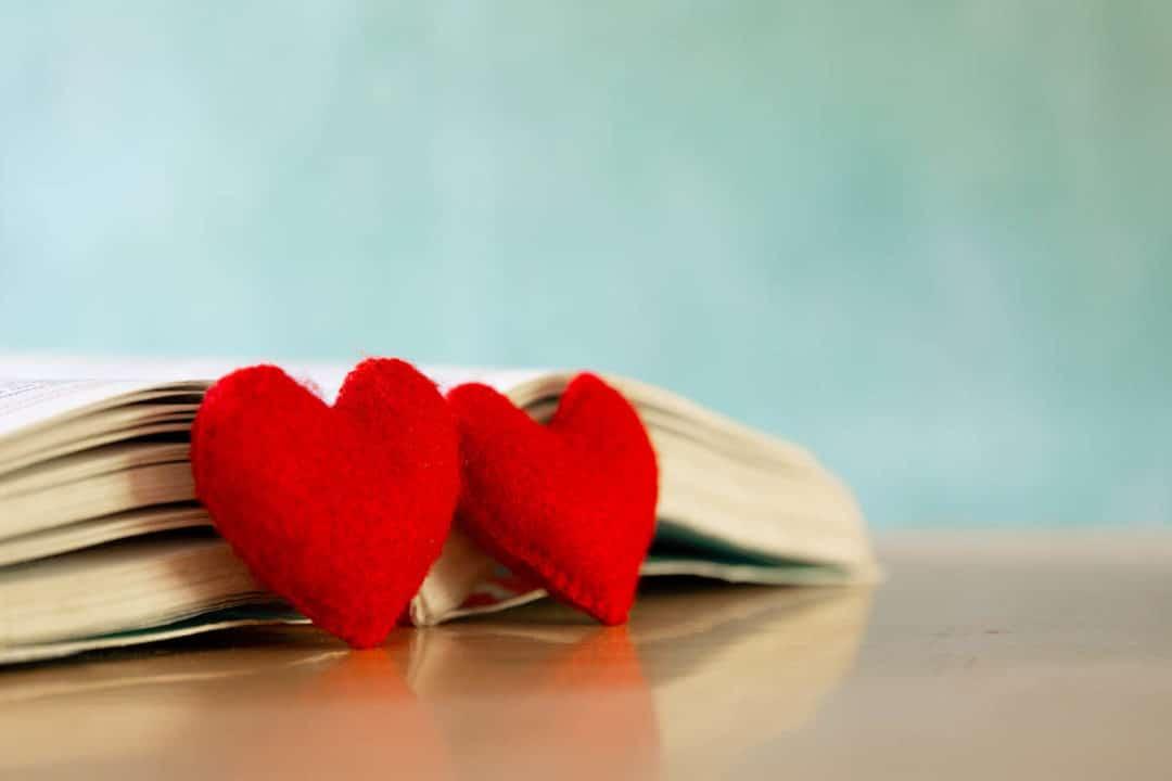 Loving books this Valentine's Day!