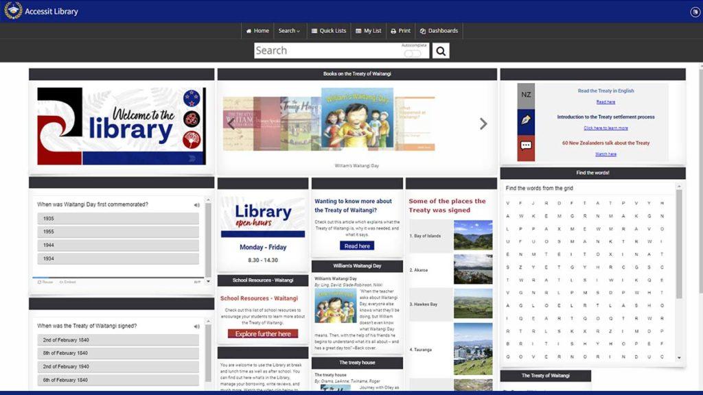 Waitangi dashboard preview - Web App of the Week