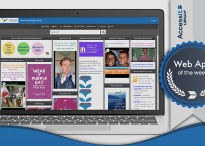 Web App of the Week – Thornbury High School