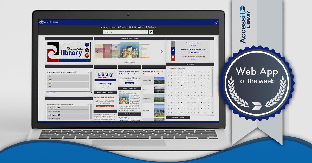 Web App of the Week - Waitangi