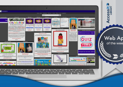 Web App of the Week – Sarah Bonnell School