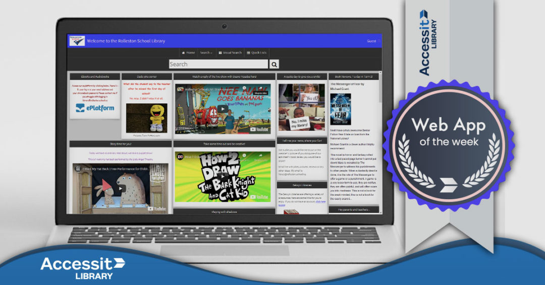 Web App of the Week – Rolleston School