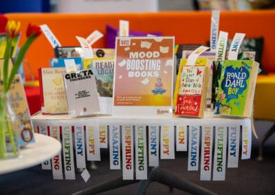 Supporting mental health in the library: Mallinson Library, Wellington College, Berkshire