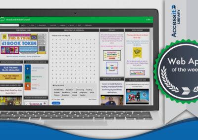 Web App of the Week – Woodland Middle School Academy
